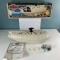 Vintage 1982 Star Wars Rebel Transport Kenner w/ Blue Box instructions Packs ESB