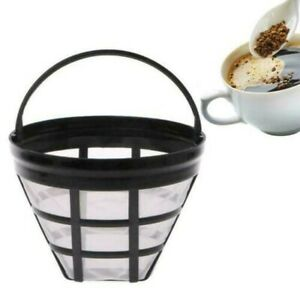Coffee Filter Paperless Pour Over Cone Dripper Reusable Basket Cup Style