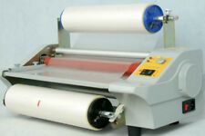 CE Updated digital Four Rollers Hot and cold roll laminating machine for 35cm