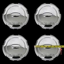 "4 Chrome 04-08 Ford F-150 18"" Wheel Center Hub Caps 6 Lug Rim Hubs Dust Covers"