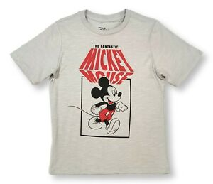 Disney Mickey Mouse Shirt for Boys Fantastic Mickey T-Shirt Tee Large 10-12