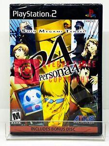 Shin Megami Tensei: Persona 4 - PS2 - Brand New   Factory Sealed