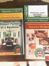 Culinary Business Academy Books Private Chef Very Slightly Used