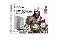 PS4 Pro God of War Edition Japan 1TB Sony PlayStation 4 Game Console USED