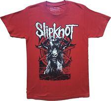 New Men's Slipknot Iowa Goat Red Heavy Metal Band Black T-Shirt Tee
