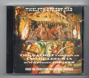 (KC737) Gavioli Fairground Organ, Twelfth Street Rag - 1994 CD