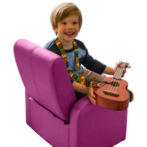 Cute Kids Chair comfy upholstered toddler baby sofa chair with storage folding