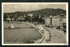 Rapallo ( Genova ): Lungomare - cartolina scrtta ma non viaggiata - 1933