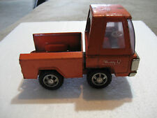 Vintage 1960s Buddy-L Tow Truck Wrecker ORANGE Pick-Up Japan