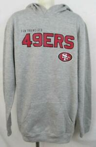 San Francisco 49ers Youth Size S (8) or XL (18) Pullover Hoodie ASNF 140