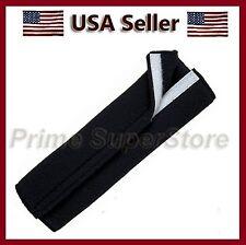 1 Premium Black Fleece Seat Belt Comfort Pad Covers/Dress & Pads Your Shoulder