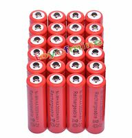 24x AA 2A 3000mAh 1.2V Ni-Mh Red Color Rechargeable Battery for RC MP3 Camera