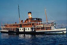 535005 Turkish Steam Ferry BOGAZICI Built At Glasgow In 1910 A4 Photo Print