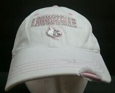 size 40 07cda 10b90 Louisville Cardinals Womens Pink Sequins Adjustable Drew Pearson Baseball  Hat