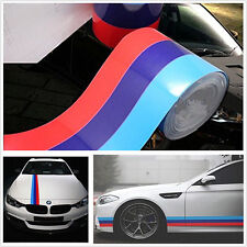 200*15cm Autos Multi-Color Stripe Body Modifield Vinyl Sticker Decoration Decal