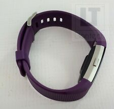 Fitbit Charge 2 Heart Rate & Fitness Wristband Purple Size L Used Good