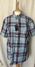 Mens Short Sleeved Casual Checked Shirt By George L