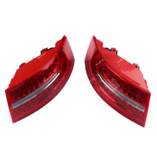 Rear Outer LED Tail Light Assembly Left +Right  For AUDI A6 S6 C6 Sedan 09-11