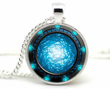 Stargate Portal Atlantis Necklace Stargate Portal SG1 Pendant Necklace jewelry