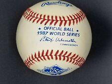 New listing Rawlings 1987 World Series Official MLB Game Baseball Minnesota Twins