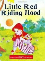 Little Red Riding Capucha Tapa Dura Grimm