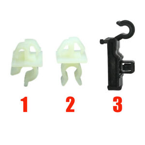 3 Bonnet Stay Clips- Plastic Holders for Toyota Support Strut Rod