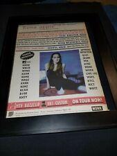 Fiona Apple Sleep To Dream Rare Original Radio Promo Poster Ad Framed!