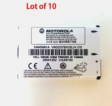 10x Original Oem Motorola Battery Snn5681A for Mpx-200 Brand New