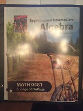 Math bundle kit paperback college textbooks educational books or best offer beginning and intermediate algebra 4th edition sherri messersmith fandeluxe Image collections
