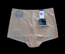 Vanity Fair Smooth Moves Damask Rose Beige Tummy Shaper Brief Plus Size 2XL