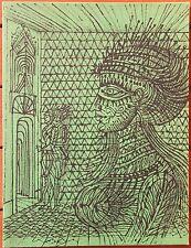Lithographie de Jean CARZOU numérotée carte de voeux 1975 +