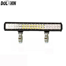 Dolphin Boat T Top LED 126W  Marine Light Bar Black Coated