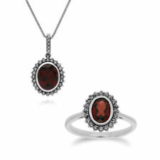 Marcasite Not Enhanced Fine Jewellery Sets