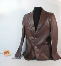 Vintage, Brand New Leather Jacket Made by Jeffrey's- Really Nice!