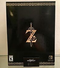 NINTENDO SWITCH THE LEGEND OF ZELDA BREATH OF THE WILD MASTER EDITION - IN HAND