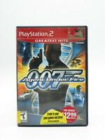 James Bond 007 Agent Under Fire PS2 Complete Tested Free Shipping