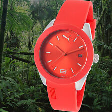 Puma Women's Grip Analog Watch Sport Red