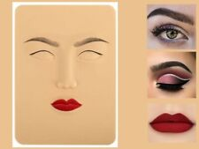 Face Make Up Practice Kit 3D Skin for Learning Makeup for Beauty Skill