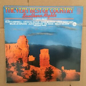 """The Very Best of Country """"Southern Nights"""" MFP/ EMI Records, LP, Album."""