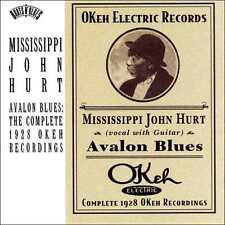 MISSISSIPPI JOHN HURT : AVALON BLUES: COMPLETE 1928 OKEH RECORDINGS (CD) sealed