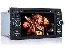 "Per Focus Transit Ford Fiesta 7"" Autoradio NAVI USB Stereo GPS MP3 DVD Giocatore"