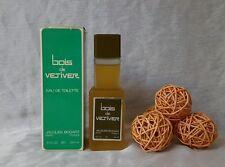 """""""VINTAGE"""" BOIS VETIVER de jaques bogart eau de toilette 120ml splash , rare ."""