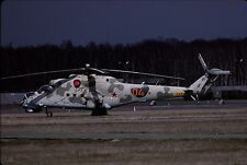 Original colour slide Mi-24V Hind '04' of Russian Air Force