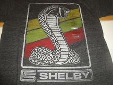 OFFICIAL SHELBY COBRA T SHIRT NEW Mens Small Gray Heather Automobile Car Apparel