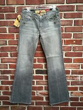 7 For All Mankind Great Wall of China Gray Embellished Gray Jeans 28 HOLY GRAIL!