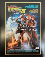 James Tolkan autographed 11x14 photo Back To The Future PSA Marshall Strickland