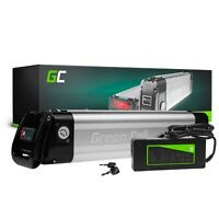 E-Bike Akku 36V 10.4Ah Li-Ion Silverfish Pedelec Batterie mit Ladegerät