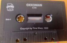 Oxxonian (Rainbow Arts) (C 64) Commodore c64 (CASSETTA TAPE) 100% OK