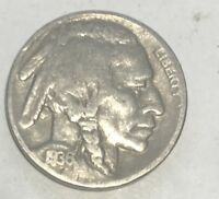 1936-D  BUFFALO NICKEL - NICE GRADE COIN - L@@K AT PICTURES!!!!!  #2948