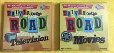 """""""Trivia on the Road"""" Television & Movie CD Travel Games Fun for the whole Family"""